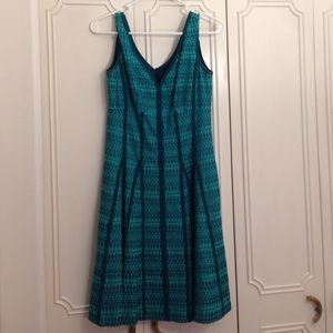 "Nanette Lepore ""grant my wish"" teal dress"