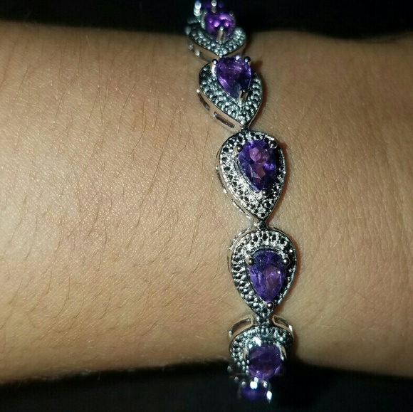 49 off zales jewelry 120via pey pal genuine amethyst for Where is zales jewelry