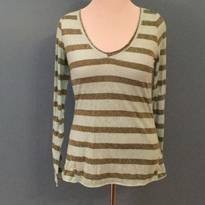 Free People We the Free striped v neck