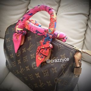 Louis Vuitton Handbags - Authentic LV Speedy 25 with free twilly😍