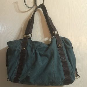 stamp 10 Handbags - Teal Blue Purse