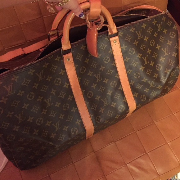 Louis Vuitton Handbags - Authentic Louis Vuitton keepall 60 bag duffle lv 88f7ed07bffc0