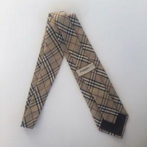 Burberry Other - Burberry Classic Plaid Silk Tie