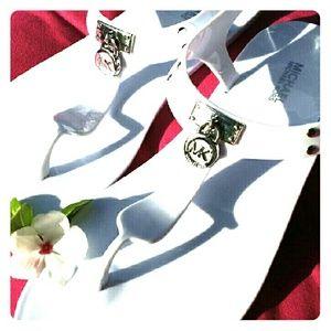 Michael Kors Shoes - Michael Kors White Jelly Sandals 6 7 8 9 10 11