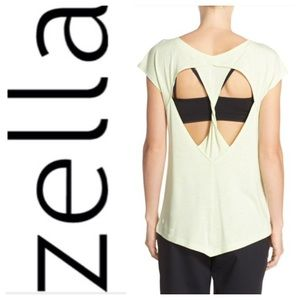 Zella Tops - LIKE NEW!  Zella Peeka twist back tee