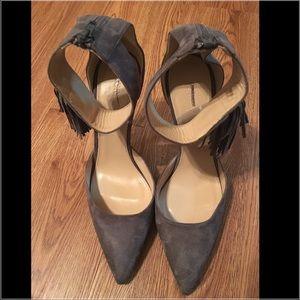 2b450681972 J. Crew Shoes - New J.Crew Roxie ankle-cuff tassel pumps size