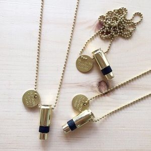 Half United Jewelry - Fighting Hunger Bullet Necklace