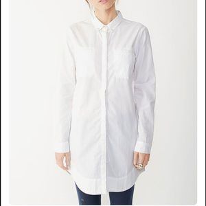 Alternative Apparel Tops - Alternative Apparel Poplin shirt dress in Stone