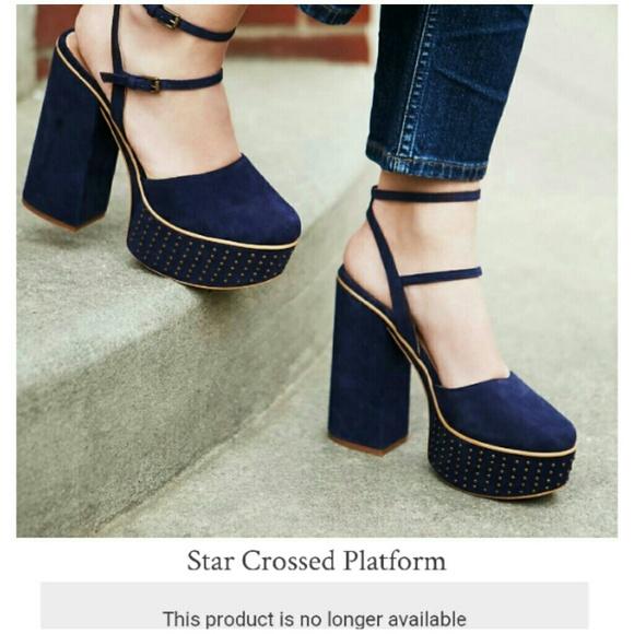 b99bf46b9b Free People Shoes | Nib Star Crossed Platform Sz 6 | Poshmark