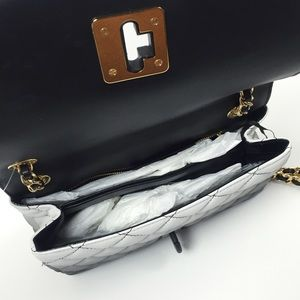 75d2343a17 Moschino Bags   Degrade Quilted Leather Shoulder Bag   Poshmark