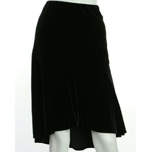 Alex Evenings Dresses & Skirts - Black Velvet Vintage Alex Evenings Skirt Gorgeous