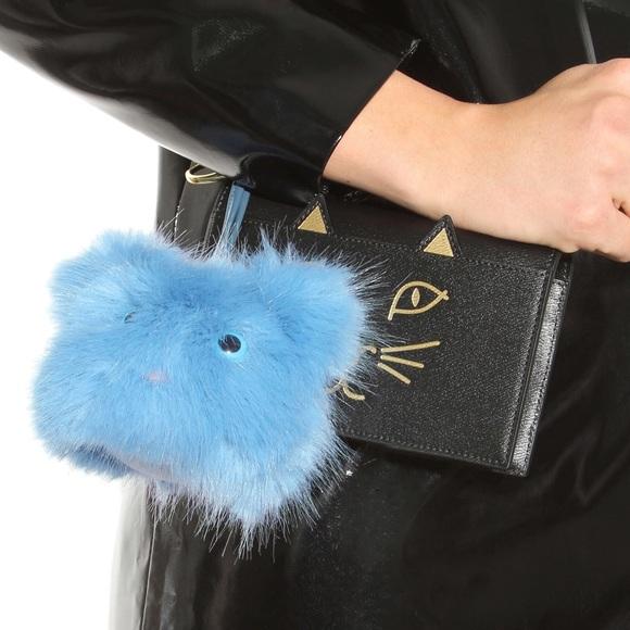bd9d9ccb977e Fendi Accessories - Shrimps faux fur baby blue Jerry Mascot