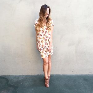 | new | fall floral dress