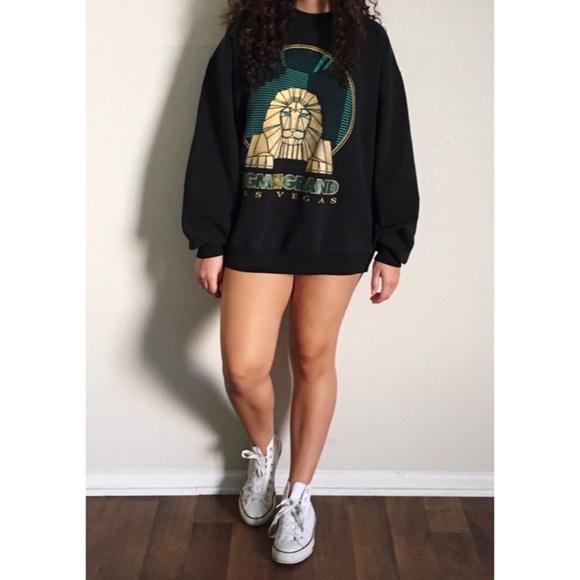 H M Sweaters Vintage Mgm Grand Las Vegas Sweatshirt Poshmark
