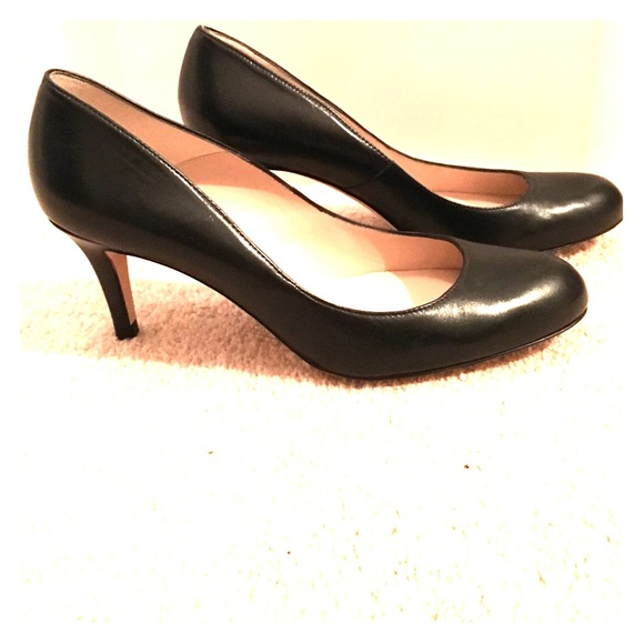 L.K. Bennett Patent Leather Round-Toe Loafers