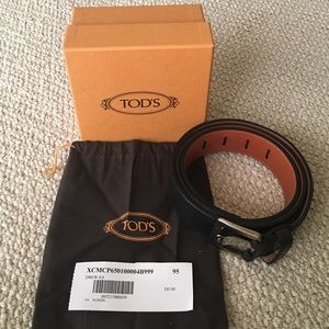 Tod's Other - ✨SALE TODAY✨NWT Men's Tod's belt✨