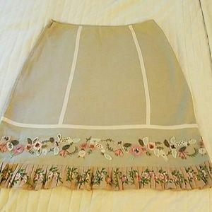 Stunning Sage Green Odille Skirt