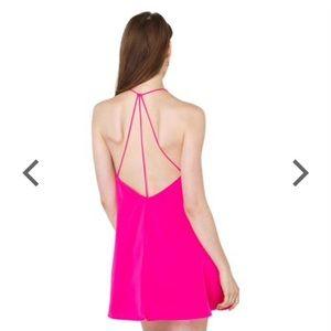 AKIRA Dresses & Skirts - Akira Pink Dress with Strappy Back