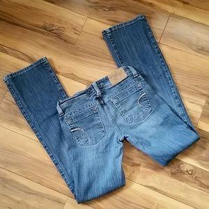 American Eagle AE Artist denim jeans sz 0 reg