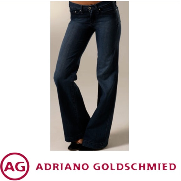 3b591bf5ddf AG Adriano Goldschmied Denim - AG Adriano Goldschmied Glisten Wide Leg Jeans