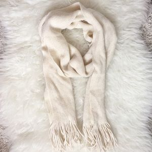 Accessories - NWOT Scarf With Gold Shimmer