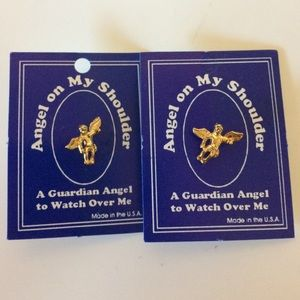 Pair of Guardian Angel Pins