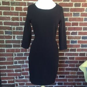 Esprit Dresses & Skirts - NWT Warm Black Dress with 3/4 Sleeves