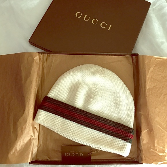 cd79db0f Gucci Accessories | Nwt Hat Crook Beanie | Poshmark