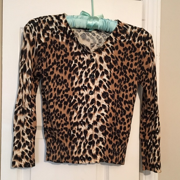 Forever 21 - 3/4 leopard print cardigan! from Caitlin's closet on ...