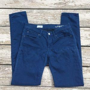 { Gap } blue legging Jean