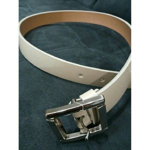 Esprit Accessories - Brand new - Esprit white leather belt