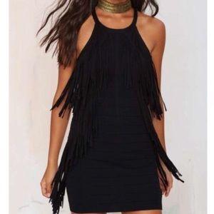 Nasty gal fringe dress ✨