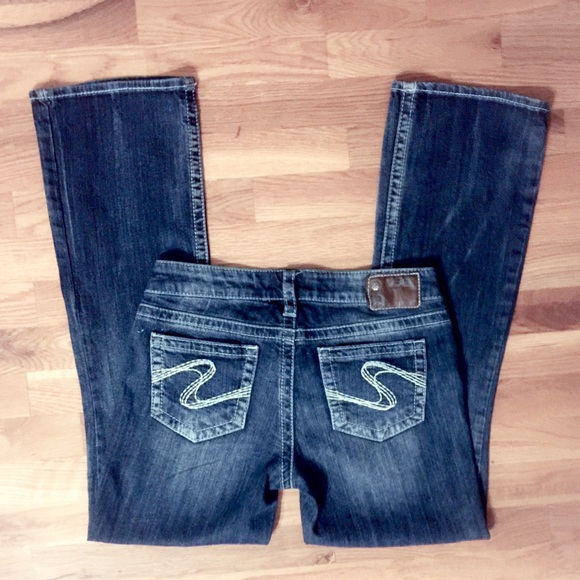 72% off Silver Jeans Denim - Buckle Silver Jeans AIKO Bootcut ...