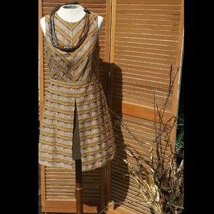 Altar'd State Sleeveless Open Back Dress