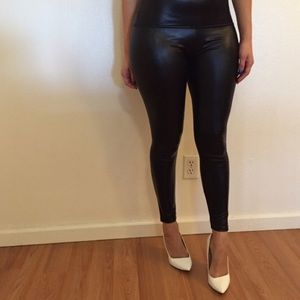 Pants - •last s/m• Faux Leather High Waisted Leggings