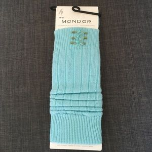 Mondor Accessories - Blue Taffy Leg warmers.