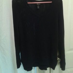 Style & Co Sweaters - Nice ! Black Cotton Sweater