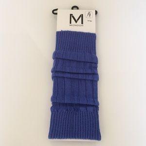 Mondor Accessories - Mondor Cobalt Blue Leg Warmers.