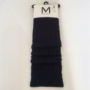 Mondor Accessories - Mondor Ink Blue Leg Warmers.
