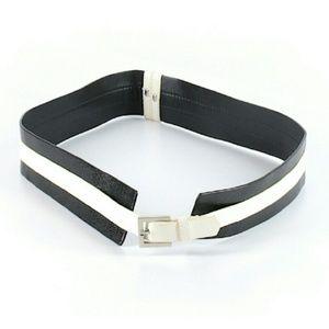 Alice + Olivia textured leather belt