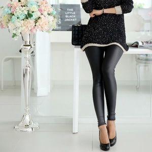 NEW ITEM!!!!  Fashion faux leather leggings