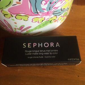 Sephora Matte Long Wear Lip Color