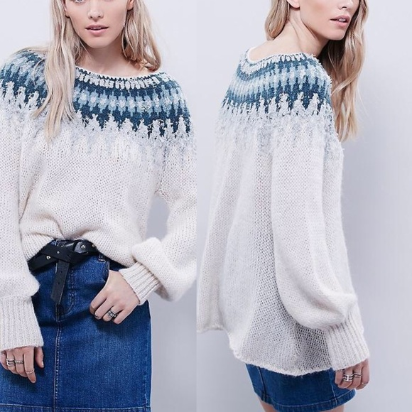 64% off Free People Sweaters - Free People Baltic Fair Isle ...