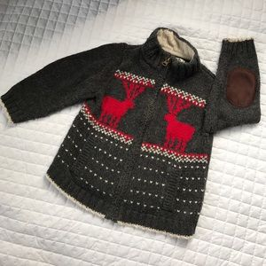 Osh Kosh Other - Sale!💕Warm Wool Reindeer Sweater