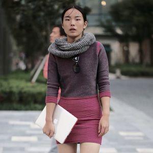 Emily Keller Sweaters - NWT Merino Wool Cotton Reversible Crop Sweater