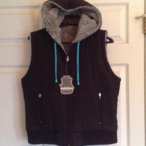 Jackets & Blazers - Reversible zip front vest