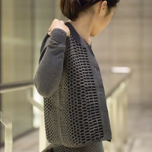 Emily Keller Jackets & Coats - NWT Varsity Jacket Reversible Reptile Pattern