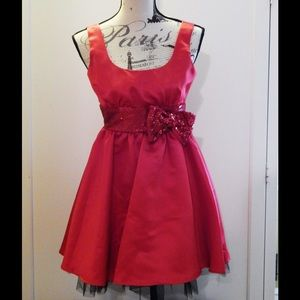 NWT Red Formal Dress Sz 3
