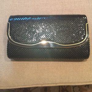 Handbags - Black chain clutch