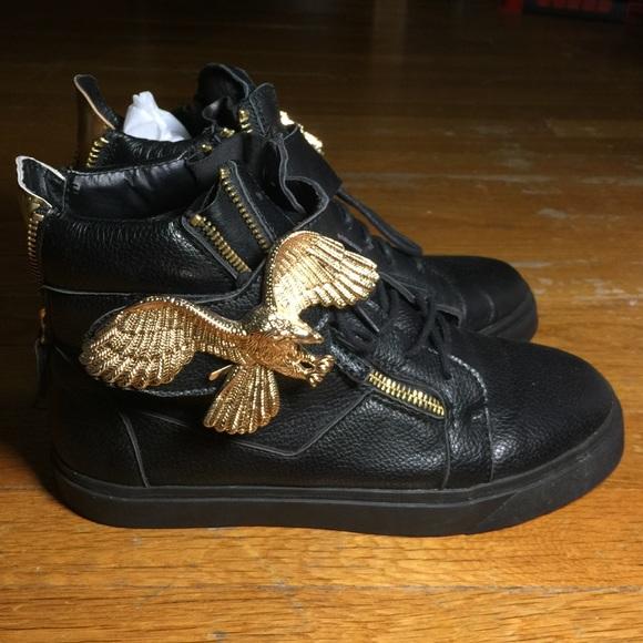 giuseppe zanotti eagles sneakers jordans